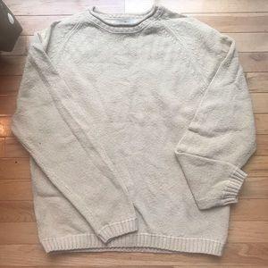 TOMMY BAHAMA Men's Sweater TAN Size Medium